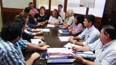 Reunión Ampliada de la Comisión de Cultura del HCD con Mariano Maciel por Proyecto sobre Vereda de Notables y Amigos
