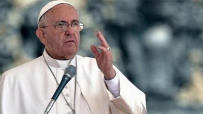 """El Papa pidió no """"alardear de lo que se es o de lo que se tiene"""""""
