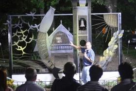ARTE EN LA CIUDAD: El intendente Gerardo Bassi inauguró junto a su equipo el monumento Goya de Sueños