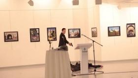 Terrorismo: El momento exacto en el que matan al embajador ruso en Turquía Andrei Karlov