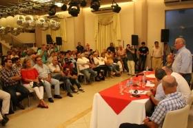 Convención radical: críticas a Ríos-Camau, y arenga de Colombi para ganar en Capital