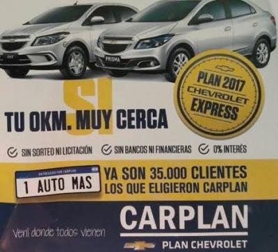 Carplan ofrece llegar a tu 0km con cuotas fijas y en pesos