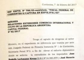 La Justicia Federal de Corrientes libró un exhorto a Portugal para extraditar a Lorhmann y Maidana