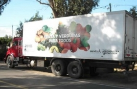 Este domingo estará en Plaza Mitre el camión de la Cooperativa FRUDERPA