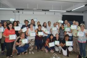Plan Nacional de Economía Social: Finalizó la capacitación para artesanos y productores agropecuarios