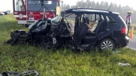 Santa Fe: seis muertos en un nuevo choque, esta vez entre dos autos y un colectivo
