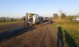 GOYA: Peatón falleció atropellado por colectivo en Paraje Tres Bocas