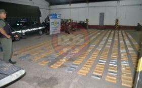 En Paso de la Patria, San Cosme e Itatí incautan más de 740 kilos de marihuana