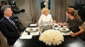 """La cena de Macri con Mirtha Legrand: """"Los gremios han destruido la educación pública"""""""