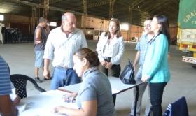 Carolina: El municipio acompañó la entrega de ayuda que realizó Nación