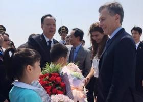 GIRA PRESIDENCIAL: MACRI LLEGÓ A CHINA, DONDE SE REUNIRÁ CON XI JINPING Y PUTIN, Y PARTICIPARÁ DEL G20