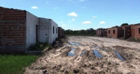 Corrupción K: El barrio de 40 casas en Perugorría que costó $ 13 millones y nunca se terminó