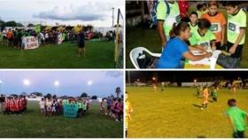 """Con total éxito de equipos y público se inició el """"nocturno de los chicos"""""""