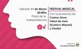 Carolina: Trébol de Ases y Gisella para celebrar el día de la mujer