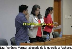 """Dra. VERGEZ: """"Como querellantes estamos conformes con la pena impuesta a Domingo Pacheco"""""""