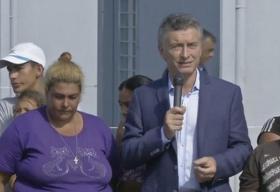"""SANTA FE: """"Hace falta crecer 20 años para sacar a los todos argentinos de la pobreza"""", afirmó el Presidente"""