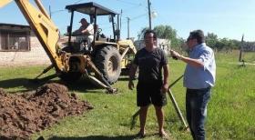 Santa Lucía: Por primera vez, 20 familias accederán al servicio de agua potable