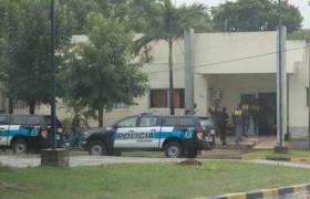 La Policía Federal allanó la Municipalidad de Perugorría