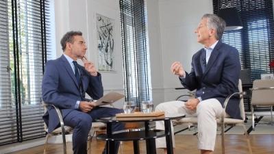 Mauricio Macri admitió que hay sectores que buscan desestabilizarlo