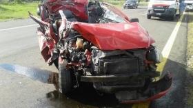 Cerca de Curuzú Cuatiá: Murió un joven y otro resultó herido tras violento choque en la Ruta 14