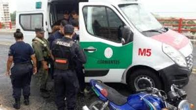 GOYA: Accidente de tránsito con consecuencia fatal en Ruta 12