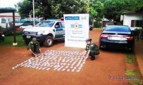 Procedimiento de Gendarmería en Virasoro: incautaron casi 6 millones de pesos ocultos en un automóvil