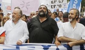 """Baradel dijo que sintió """"vergüenza"""" por las expresiones de Macri y reclamó """"que cumpla la ley"""""""