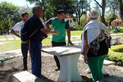 ESTE JUEVES: Junto a Camau Espínola, el intendente Gerardo Bassi inaugura las remodelaciones de la plaza San Martín