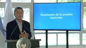 """Macri envía al Congreso el """"Plan Maestr@"""" para fijar metas educativas"""