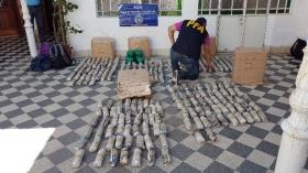 Policía Federal de Goya secuestró cargamento de hojas de coca