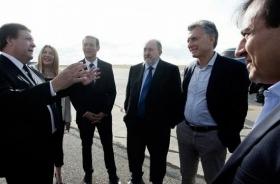 Macri lanzó en Viedma un proyecto de desarrollo de la Patagonia con los gobernadores de la region