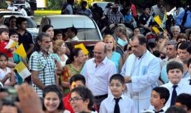 """Canteros celebra la llegada de monseñor Montini: """"La Iglesia acompaña el crecimiento de Corrientes"""""""
