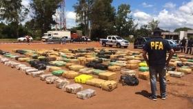 Misiones: Secuestraron siete toneladas de marihuana camufladas en un camión de sandías