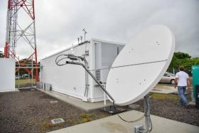 Ituzaingó: Lombardi inauguró una antena de la Televisión Digital Abierta