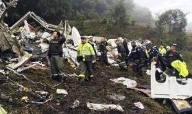 Los restos de los brasileños fallecidos llegarán el viernes a Chapecó