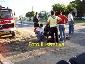 7 accidentes de tránsito entre las 3 y las 15 del domingo y un incendio de banquinas
