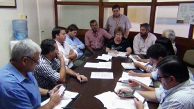 La Comisión de Producción del HCD analizó con funcionarios precio de lotes en el Parque Industrial