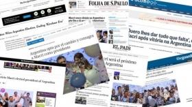 """LOS MEDIOS DEL MUNDO HABLAN DEL FIN DE LA """"ERA KIRCHNER"""""""
