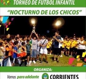Puntapié inicial para el Torneo Infantil de Fútbol que organiza la Provincia en Matienzo
