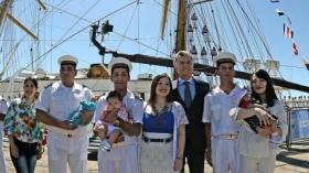 Macri despide a la Fragata Libertad y luego estará en Salta y Corrientes