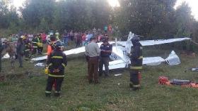 Falleció en un accidente aéreo el aviador Cesar Falistocco