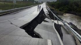 Chile sufrió un terremoto de 7,7 grados que se percibió fuerte en la Argentina