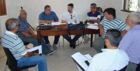 Saladas albergó la primera reunión del año del Consejo Directivo del básquet correntino