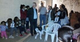 Partido Popular: Charla mano a mano con vecinos del B° Devoto