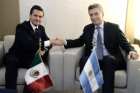 EL PRESIDENTE SE REUNIÓ CON PEÑA NIETO Y CEOS DE MULTINACIONALES