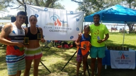 CIUDAD DEL DEPORTE: Goyanos participaron de la 2ª Edición del Campeonato de Aguas Abiertas en Laguna Soto