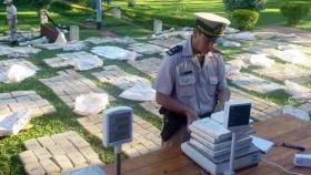 Detuvieron al hermano del viceintendente de Itatí con 500 kilos de marihuana