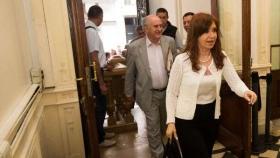 Cristina Kirchner volvió a la actividad política y criticó a Mauricio Macri por el Correo
