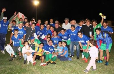 """La plaza se consagró campeón del torneo """"Flecha Morato"""""""