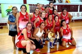 Las chicas de Unión son campeonas del20º Torneo de Verano Básquetbol Femenino de Mayores